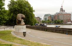Jardins de promenade de rive, Pimlico Images libres de droits