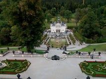 Jardins de Schloss Linderhof, Allemagne photo stock