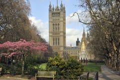 Jardins de tour de Victoria, Westminster, Londres image libre de droits