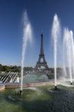 Jardins de Trocadero Foto de Stock Royalty Free