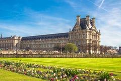 Jardins de Tuileries em Paris, França Fotografia de Stock Royalty Free
