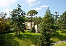 Jardins de Vatican fotografia de stock