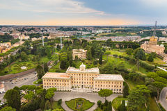 Jardins de Vatican Image libre de droits