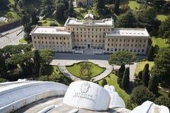 Jardins de Vatican Photos libres de droits
