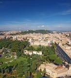 Jardins de Vatican, Rome photographie stock libre de droits