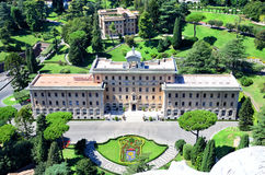 Jardins de Vatican, Rome l'Italie Photos stock
