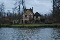 Jardins de Versailles, village de Maria Antonieta Photographie stock libre de droits