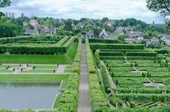 Jardins de Villandry Fotografia Stock