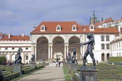 Jardins de Wallenstein e palácio de Wallenstein Foto de Stock