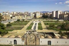 Jardins de Zisa Photos libres de droits