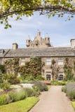 Jardins do castelo de Cawdor em Escócia Fotos de Stock