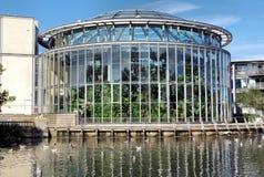 Jardins do inverno em Sunderland foto de stock royalty free