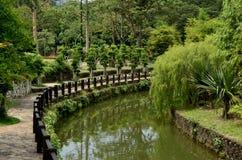 Jardins do lago Perdana Foto de Stock Royalty Free