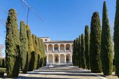 Jardins do palácio da infantaria Foto de Stock Royalty Free