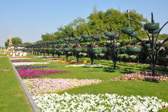 Jardins do paraíso de Al Ain Imagem de Stock Royalty Free