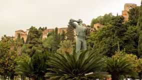 Jardins do parque de Pedro Luis Alonso de Malaga - Andaluzia Imagem de Stock