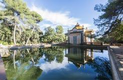Jardins do parque do labirinto de Horta, Barcelona, Espanha Imagem de Stock
