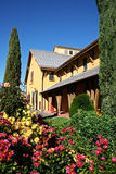 Jardins do vinhedo de Sonoma Foto de Stock Royalty Free