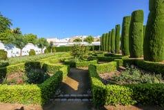 Jardins dos reis castelo Foto de Stock Royalty Free