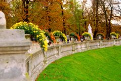 Jardins du Luxembourg Royalty Free Stock Images
