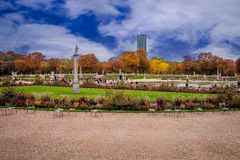 Jardins du Luxembourg, Paris, France. Stock Images