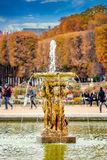 Jardins du Luxembourg, Paris, France in autumn. Stock Images
