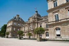 Jardins du luxembourgeois à Paris Images libres de droits
