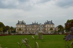 Jardins du luxembourgeois photographie stock libre de droits