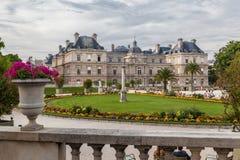 Jardins du luxembourgeois Images libres de droits