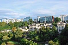 Jardins du luxembourgeois Image libre de droits