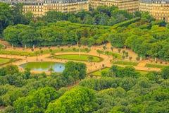 Jardins du luxembourgeois de Paris image libre de droits