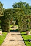 Γραφικό Jardins du Manoir δ Eyrignac σε Dordogne στοκ φωτογραφία με δικαίωμα ελεύθερης χρήσης