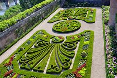 Jardins du Palais de la Berbie. Garden of Jardins du Palais de la Berbie in Albi, France Royalty Free Stock Photography