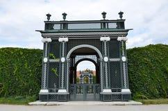 Jardins du palais impérial à Vienne photos libres de droits