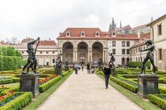 Jardins du sénat à Prague Photographie stock libre de droits