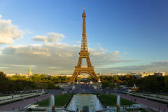 Jardins du Trocadéro Στοκ Φωτογραφίες