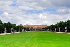 Jardins e palácio de Versalhes Imagem de Stock Royalty Free