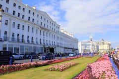 Jardins Eastnourne Angleterre de tapis Photos libres de droits