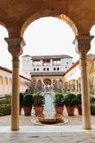 Jardins em Alhambra Imagens de Stock Royalty Free