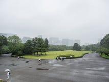 Jardins est de palais impérial, Tokyo, Japon photos stock