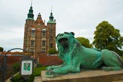 Jardins et stationnements de Copenhague photo stock
