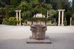 Jardins et villa de Rothschild Image libre de droits