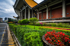 Jardins fora de Sun Yat-sen nacional Memorial Hall no Xi Imagem de Stock Royalty Free