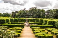 Jardins formais Fotografia de Stock Royalty Free