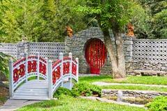 Jardins formels Images libres de droits