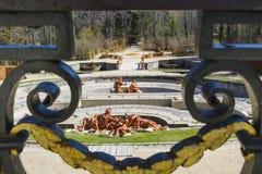 Jardins históricos do palácio Imagem de Stock Royalty Free