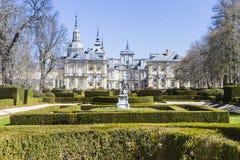 Jardins históricos do palácio Fotografia de Stock