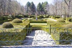 Jardins históricos do palácio Imagens de Stock Royalty Free
