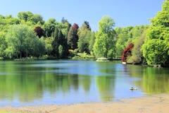 Jardins majestueux. Image stock