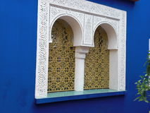Jardins Majorelle Les в Marrakesh стоковое изображение